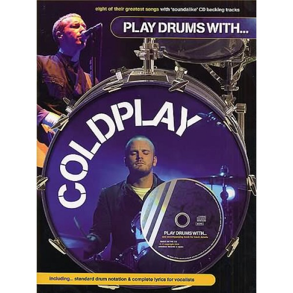 Play Drums With... Coldplay CD