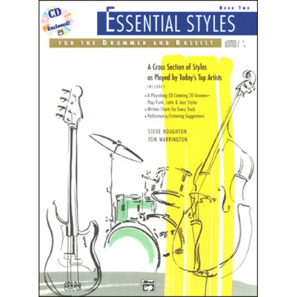 Essential Styles For The Drummer and Bassist - Book 2