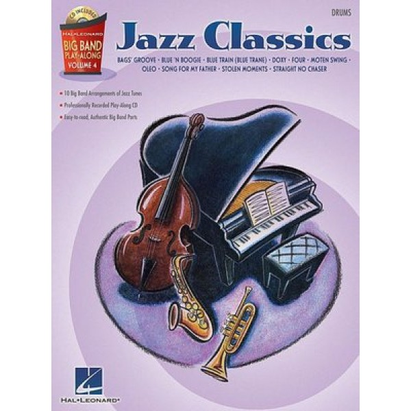 Jazz Classics - Drums: Big Band Play-along Volume 4