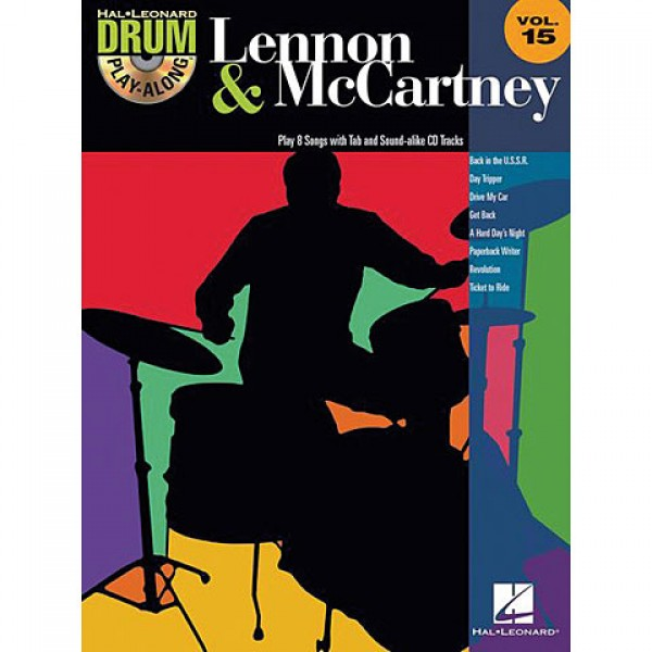 Drum Play-Along Volume 15 Lennon - McCartney