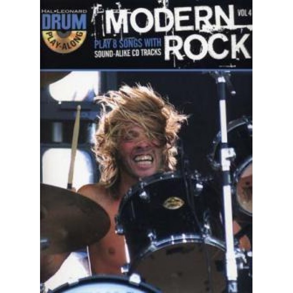Drum Play-Along Volume 4 Modern Rock