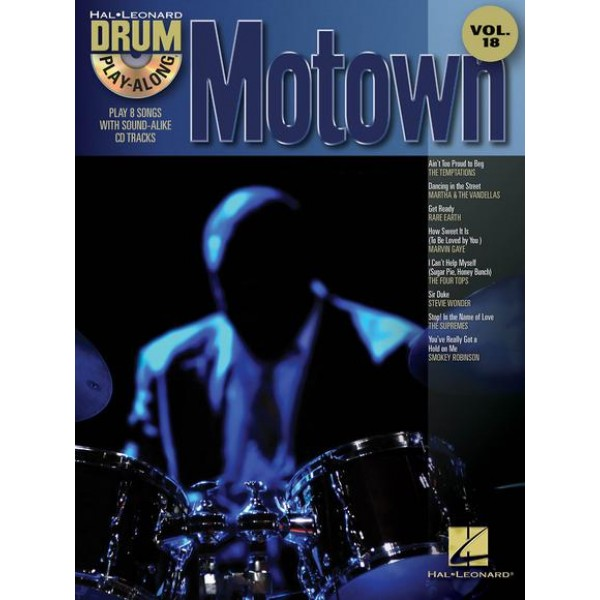 Drum Play-Along Motown vol.18