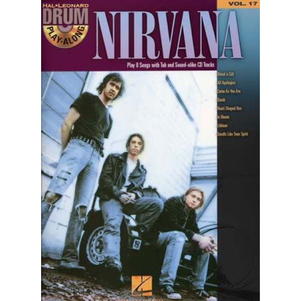 Drum Play-Along volume 17 NIRVANA