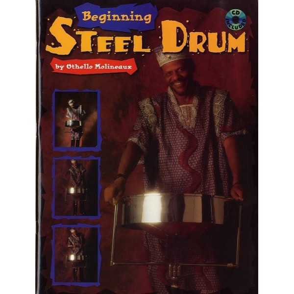 Beginning Steel Drum Book/Cd