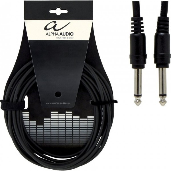 Alpha Audio Basic Line Patchcable 6τεμ 1.5m
