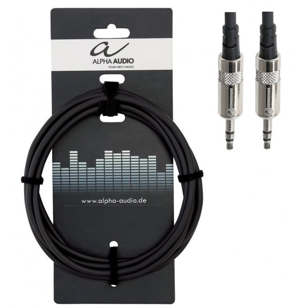 Alpha Audio Pro Line Καλώδιο Stereo 1.5m jack - jack (3.5mm)