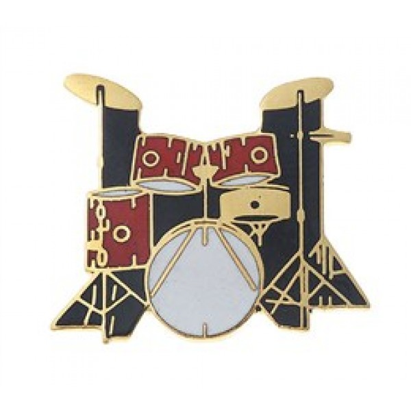 Καρφίτσα 5-Piece Drum Set (Red)