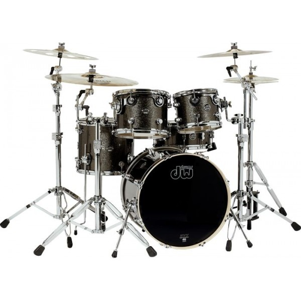 DW Performance Series Studio Pewter Sparkle