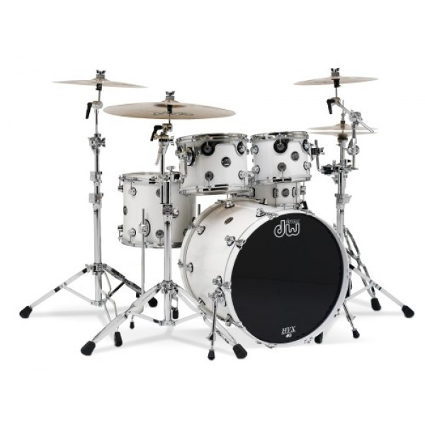 DW Performance Series Fuzion Pearlescent White