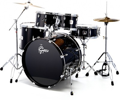 Gretsch GE1 Energy Series Studio - Black  No Cymbals