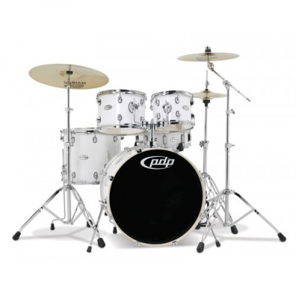 PDP Mainstage Gloss White  Bundle