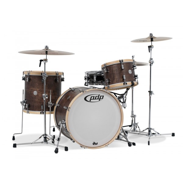 PDP Concept Classic Wood Hoop Kit 22,16,13 Walnut Satin