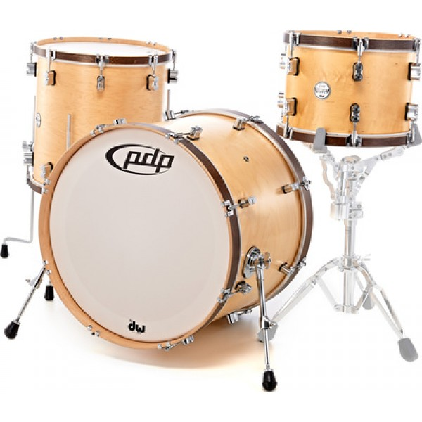 PDP Concept Classic Wood Hoop Kit  22,16,13 Natural Maple