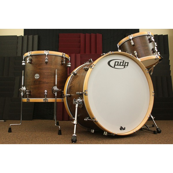 PDP Concept Classic Wood Hoop Kit 24,16,13 Walnut Satin