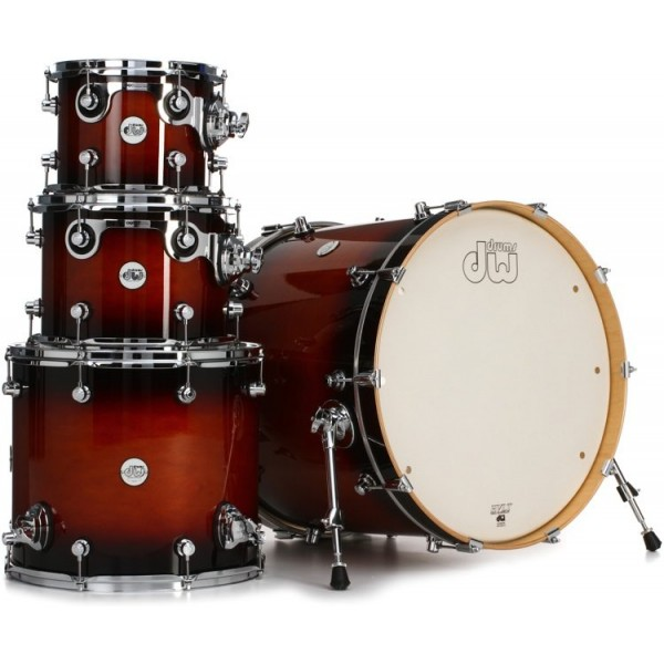DW Design Series Shell Pack Tobacco Burst