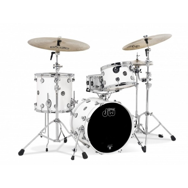 DW Performance Series Jazz Pearlescent White
