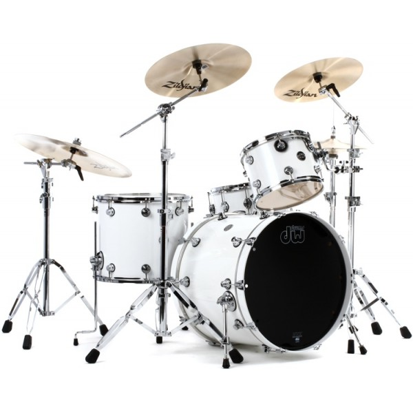 DW Performance Series Rock Pearlescent White