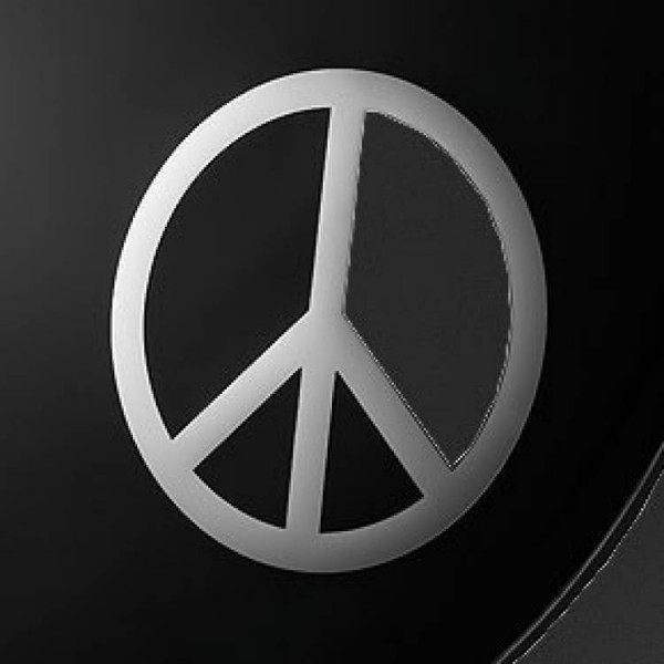 Dynamos Chrome Graphic Peace Sign Remo