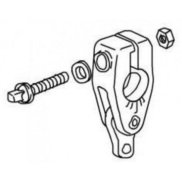 DC396NA Uni-Lock Beater Angle Cam Complete Pearl