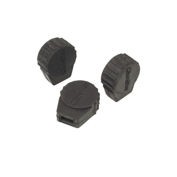 Gibraltar SC-PC10 Small Round  Rubber Feet (3pk)