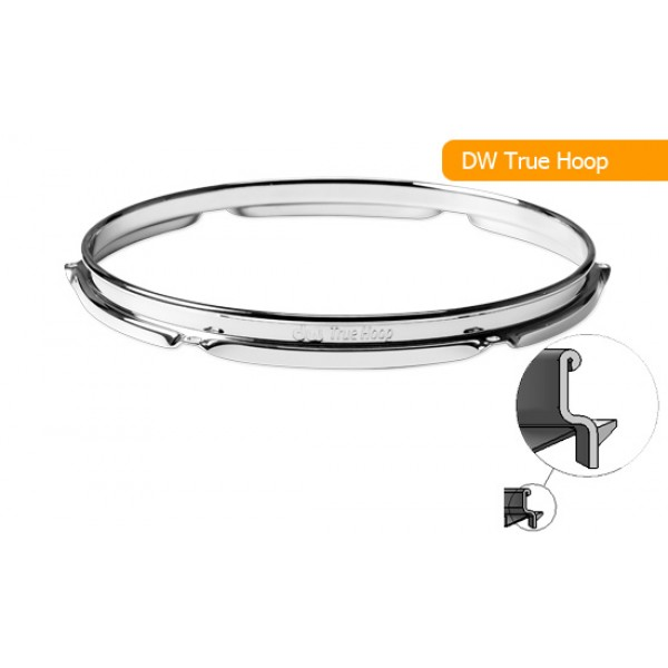 DW True Hoop 14'' Snare Side 10-Lug