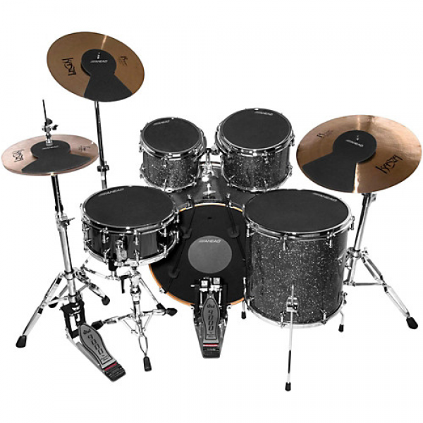 ADS-FUS 8-Piece Fuzion Drum Silencer Pack Ahead