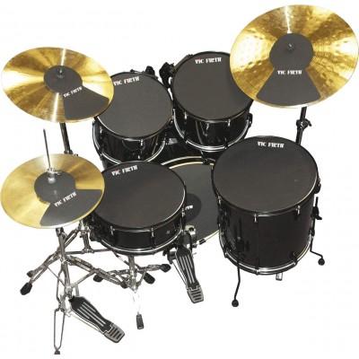 Vic Firth Mute Prepack 10/12/14/14/22 HiHat and 2 Cymbal