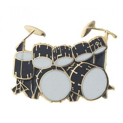 Καρφίτσα 7-Piece Drum Set (black)