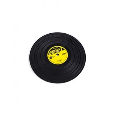 Silicone Trivet: Vinyl Record Design