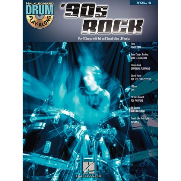 Drum Play-Along Volume 6: '90s Rock