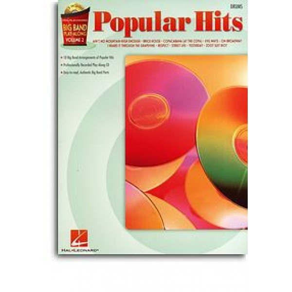 Big Band Play-Along Volume 2: Popular Hits - Drums