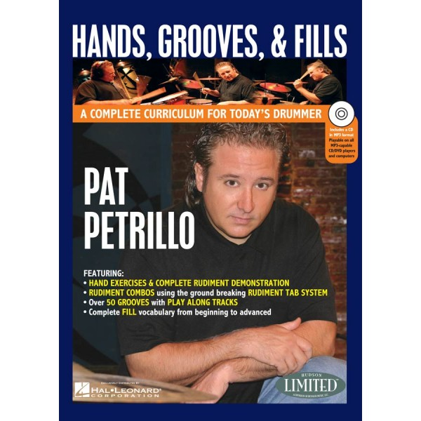 Hands Grooves And Fills Pat Petrillo (Book/CD/DVD)