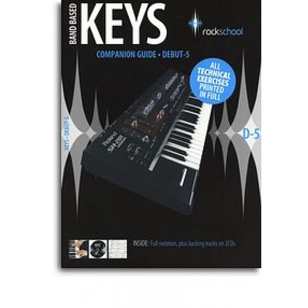 Rockschool Companion Guide - Band Based Keys