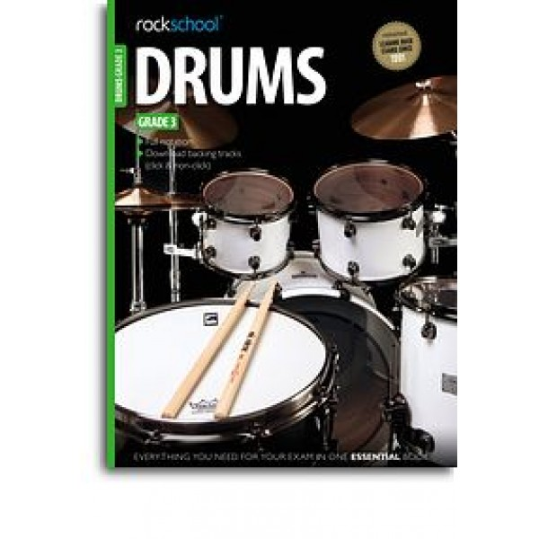 Rockschool Drums - Grade 3 (2012-2018)