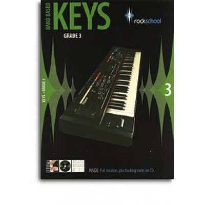 Rockschool: Band Based Keys - Grade 3