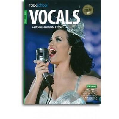Rockschool: Vocals Grade 1 - Female (Book/Audio Download)