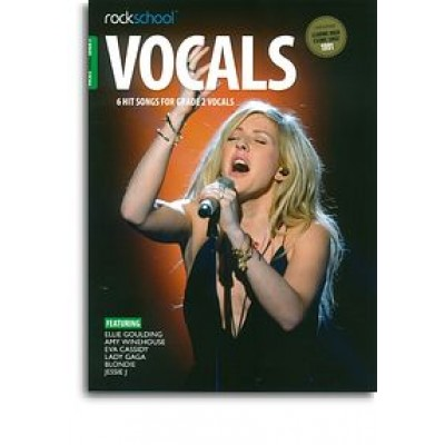 Rockschool: Vocals Grade 2 - Female (Book/Audio Download)