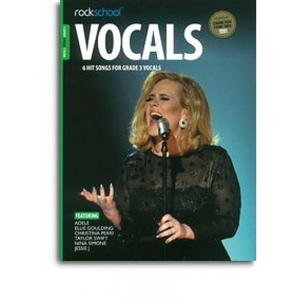 Rockschool: Vocals Grade 3 - Female (Book/Audio Download)