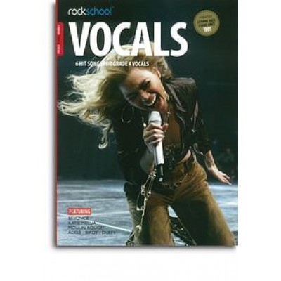 Rockschool: Vocals Grade 4 - Female (Book/Audio Download)