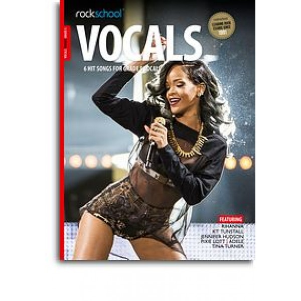 Rockschool: Vocals Grade 5 - Female (Book/Audio Download)