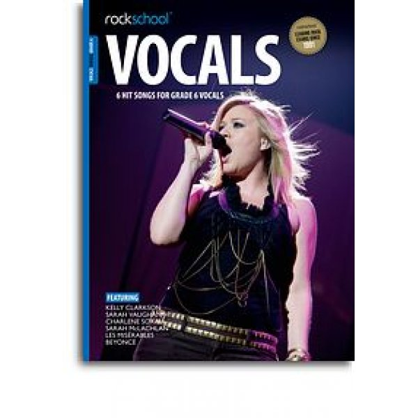 Rockschool: Vocals Grade 6 - Female (Book/Audio Download)