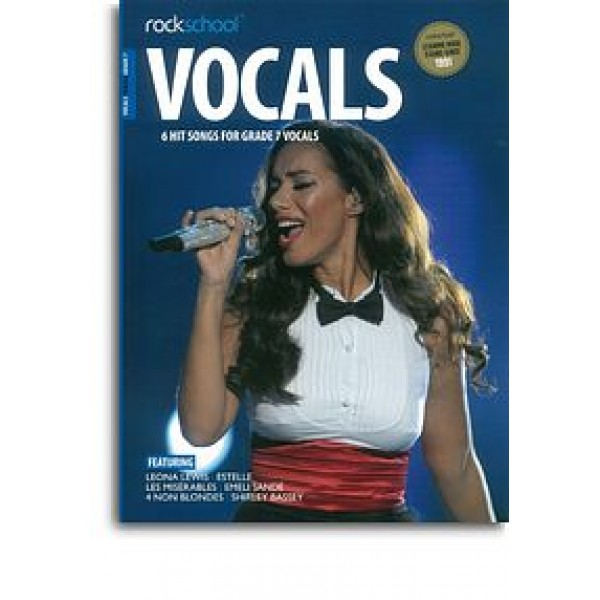 Rockschool: Vocals Grade 7 - Female (Book/Audio Download)