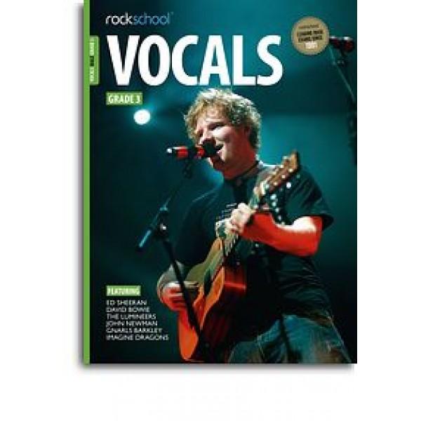 Rockschool: Vocals Grade 3 - Male (Book/Audio Download)