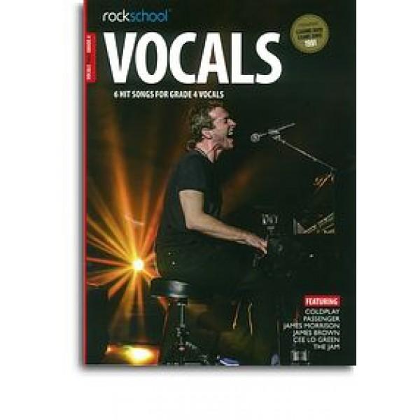 Rockschool: Vocals Grade 4 - Male (Book/Audio Download)