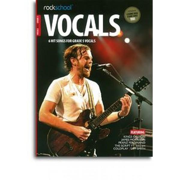 Rockschool: Vocals Grade 5 - Male (Book/Audio Download)