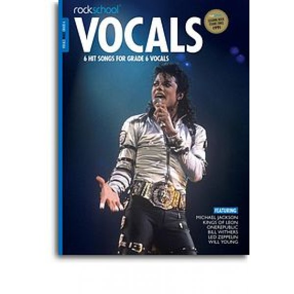Rockschool: Vocals Grade 6 - Male (Book/Audio Download)