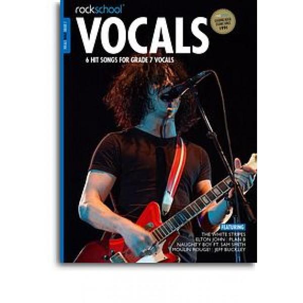 Rockschool: Vocals Grade 7 - Male (Book/Audio Download)