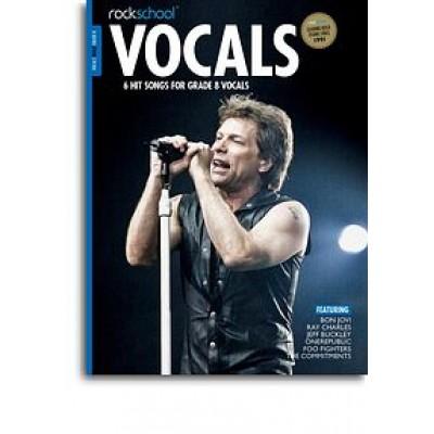 Rockschool: Vocals Grade 8 - Male (Book/Audio Download)
