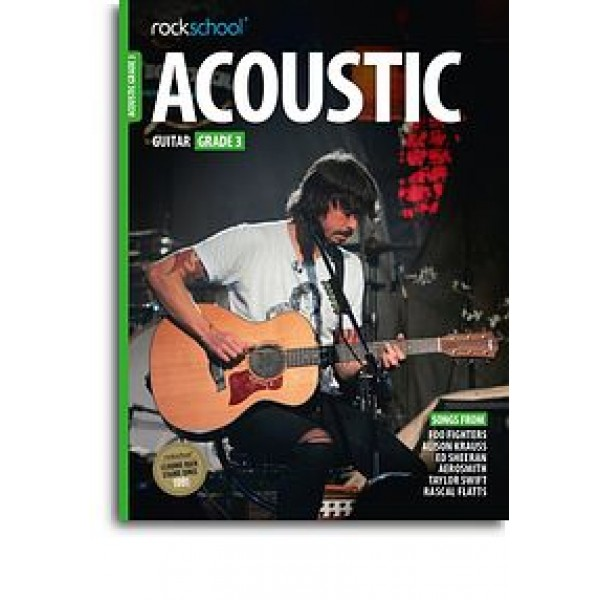 Rockschool Acoustic Guitar - Grade 3 (2016) (Book/Online Audio)