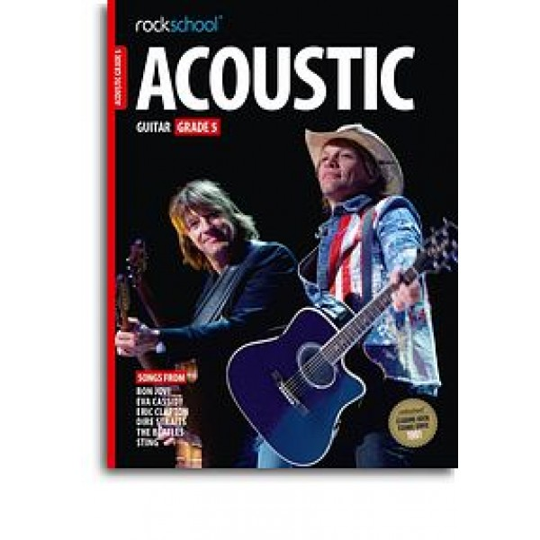 Rockschool Acoustic Guitar - Grade 5 (2016) (Book/Online Audio)